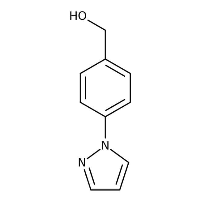 [4-(1H-Pyrazol-1-yl)phenyl]methanol, 97%, Maybridge