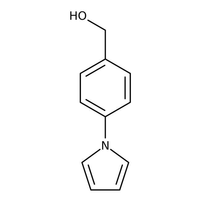 [4-(1H-Pyrrol-1-yl)phenyl]methanol, 97%, Maybridge
