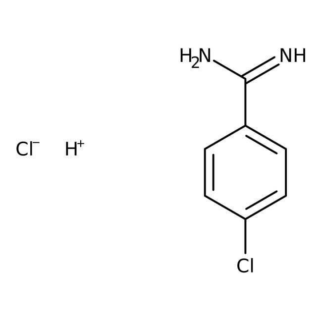 4-Chlorobenzamidine hydrochloride, 95%, ACROS Organics™