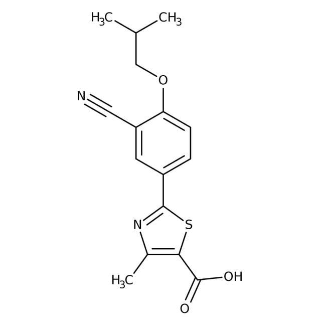 Febuxostat, Tocris Bioscience™ 50mg Febuxostat, Tocris Bioscience™