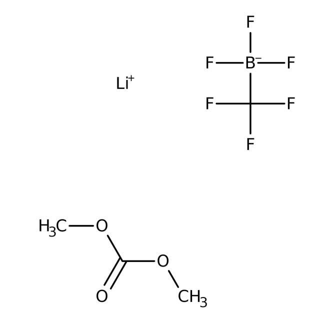 Lithium Trifluoro(trifluoromethyl)borate - Dimethyl Carbonate Complex 98.0+%, TCI America™
