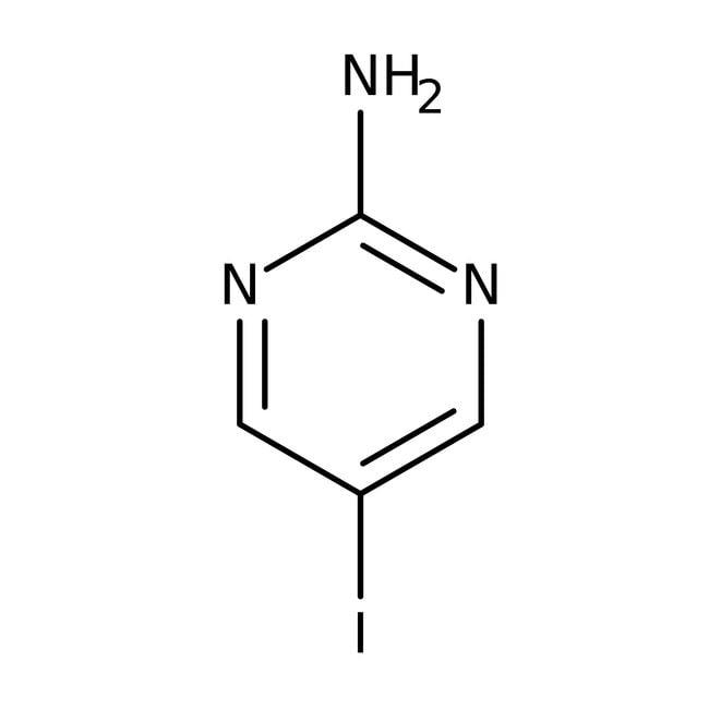Alfa Aesar  2-Amino-5-iodopyrimidine, 97%