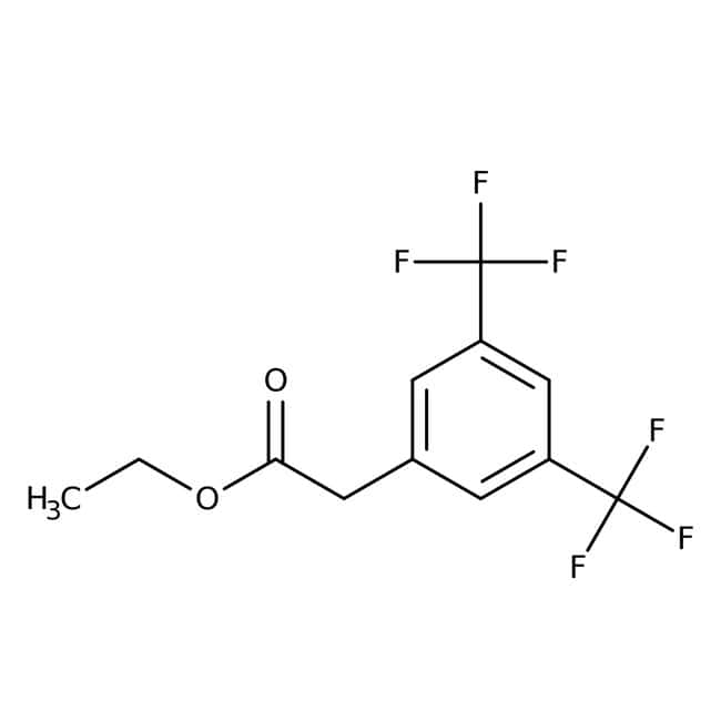 Alfa Aesar™Ethyl 3,5-bis(trifluoromethyl)phenylacetate, 98% 5g Alfa Aesar™Ethyl 3,5-bis(trifluoromethyl)phenylacetate, 98%