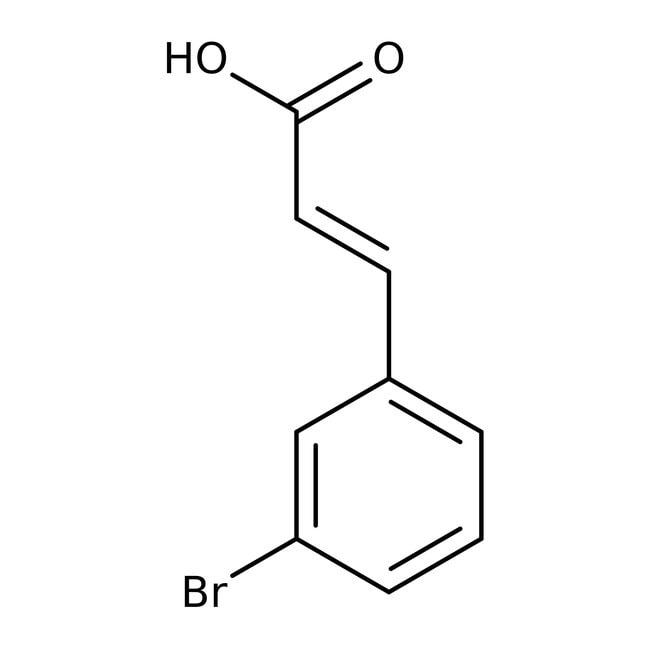 Alfa Aesar™trans-3-Bromocinnamic acid, 98+% 5g Alfa Aesar™trans-3-Bromocinnamic acid, 98+%