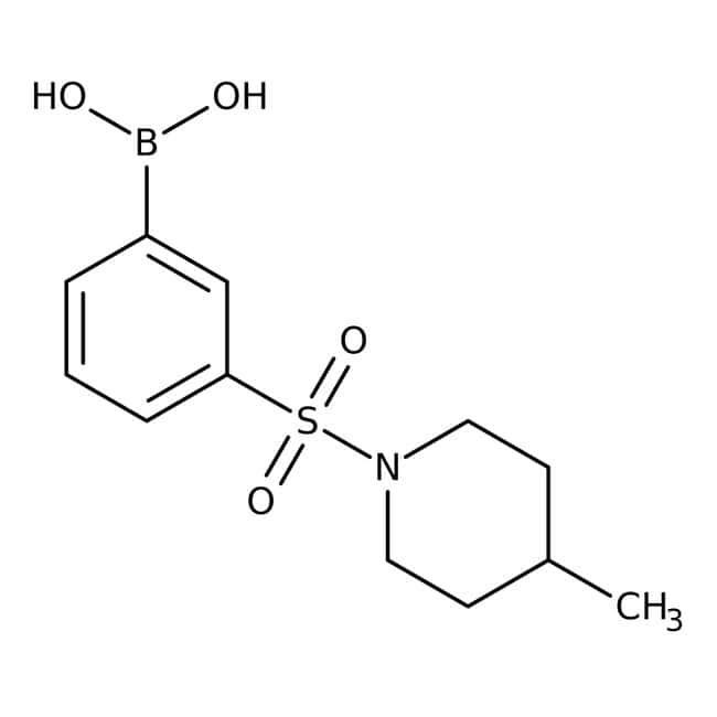 3-[(4-Methyl-1-piperidinyl)sulfonyl]benzeneboronic acid, 97%, Alfa Aesar™