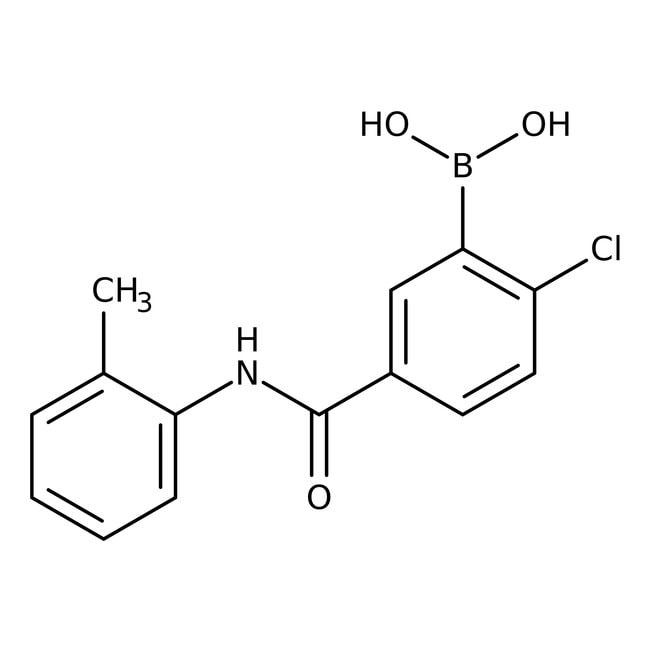 Alfa Aesar™2-Chloro-5-(2-methylphenylcarbamoyl)benzeneboronic acid, 97%