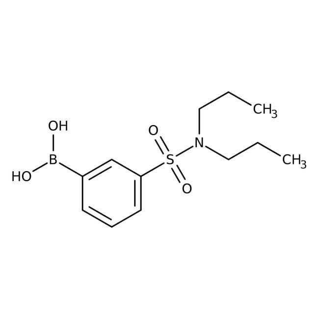 Alfa Aesar™3-(Di-n-propylsulfamoyl)benzeneboronic acid, 97%