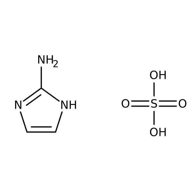 2-Aminoimidazole hemisulfate, 98+%, ACROS Organics™