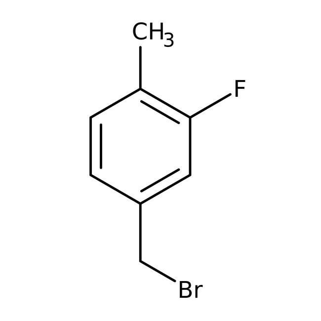 Alfa Aesar™Bromuro de 3-fluoro-4-metilbencilo, 97% 1g Alfa Aesar™Bromuro de 3-fluoro-4-metilbencilo, 97%