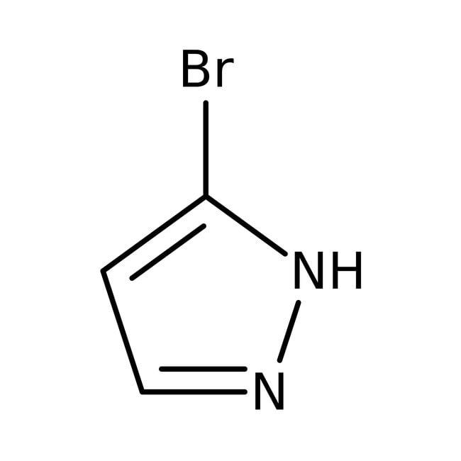 3-Bromopyrazole, 98%, Thermo Scientific™ 1g; Glass bottle Aryl bromides
