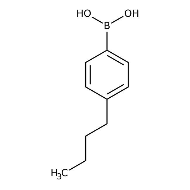 4-n-Butylphenylboronic acid, 95%, ACROS Organics™ 5g 4-n-Butylphenylboronic acid, 95%, ACROS Organics™