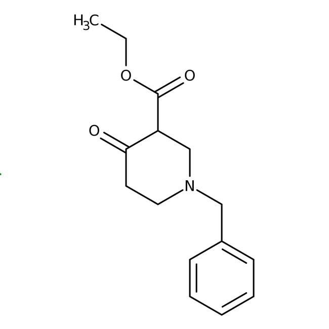 1-Benzyl-3-carbethoxy-4-piperidone hydrochloride, 97%, ACROS Organics™
