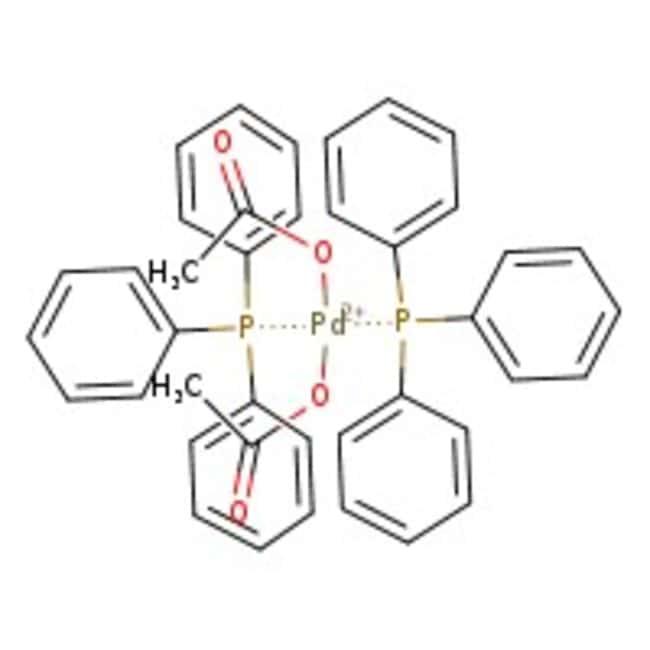 Bis(triphenylphosphine)palladium(II) diacetate, 99%, ACROS Organics™