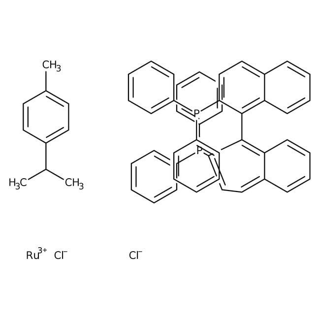 [RuCl(p-cymene)((R)-binap)]Cl 90.0+%, TCI America™