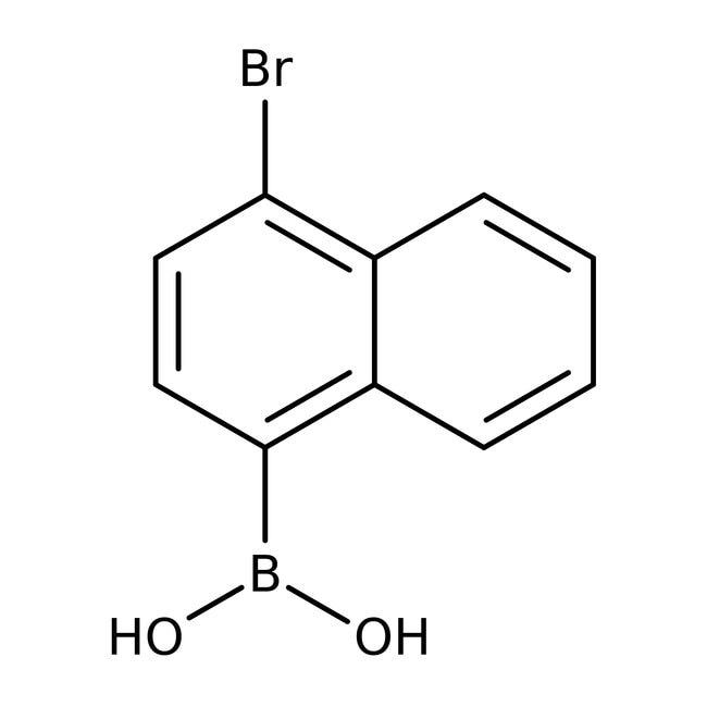 Alfa Aesar™4-Bromonaphthalene-1-boronic acid, 97%