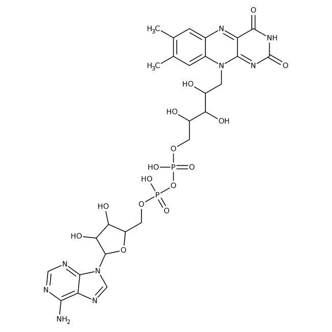 Flavin adenine dinucleotide disodium salt, 100.5%, 95 to 99%, MP Biomedicals