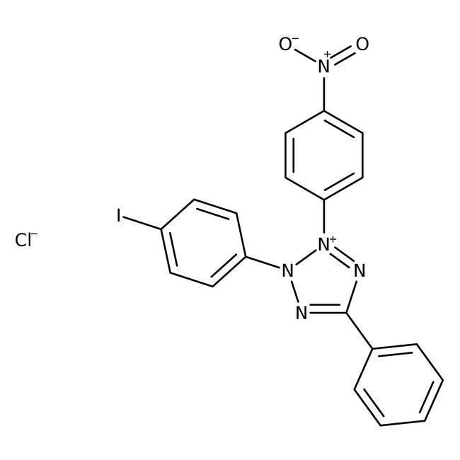 2-(4-Iodophenyl)-3-(4-nitrophenyl)-5-phenyltetrazolium Chloride 98.0+%, TCI America™