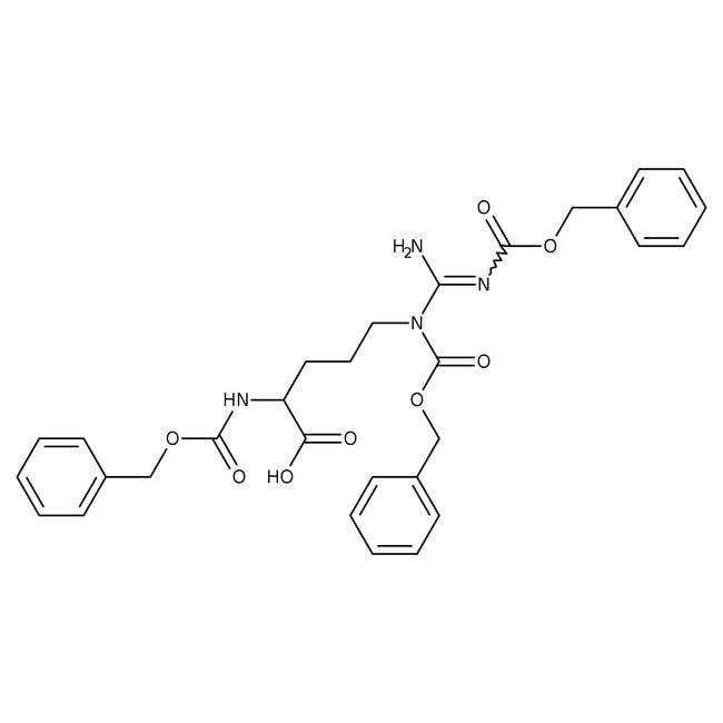 Alfa Aesar™Nalpha,Ndelta,Nomega-Tris(benzyloxycarbonyl)-L-arginine, 95% 1g Alfa Aesar™Nalpha,Ndelta,Nomega-Tris(benzyloxycarbonyl)-L-arginine, 95%