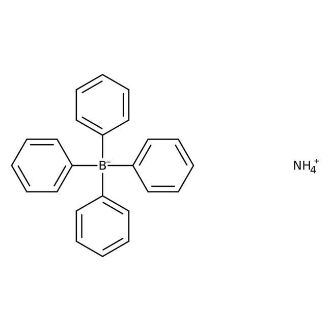 Alfa Aesar™Ammonium tetraphenylborate, 99% 5g Alfa Aesar™Ammonium tetraphenylborate, 99%