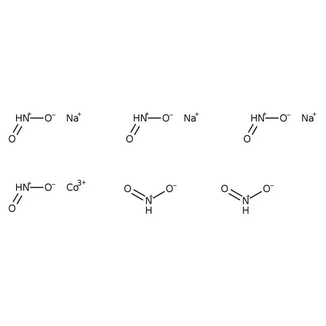 Alfa Aesar™ Sodium hexanitritocobaltate(III): Salts and Inorganics