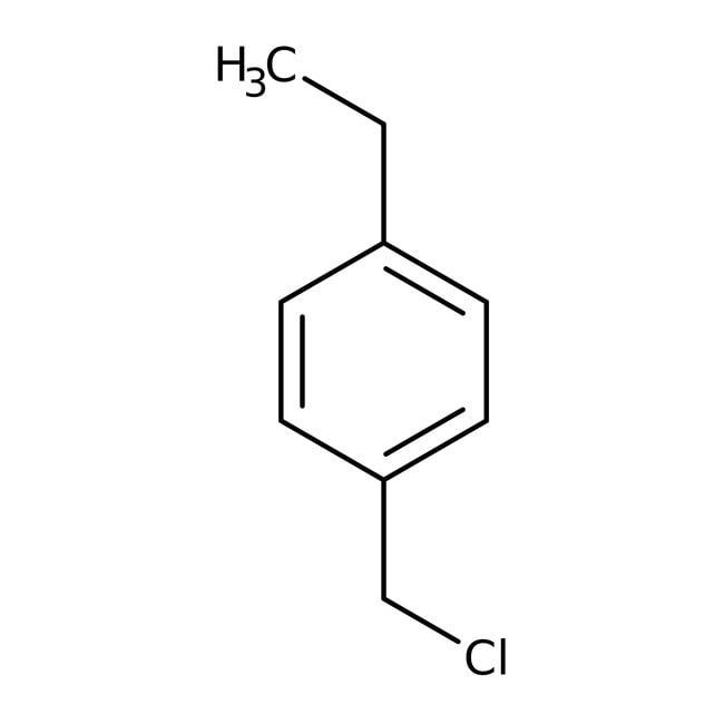 Alfa Aesar  4-Ethylbenzyl chloride, 97%, stab. with calcium carbonate