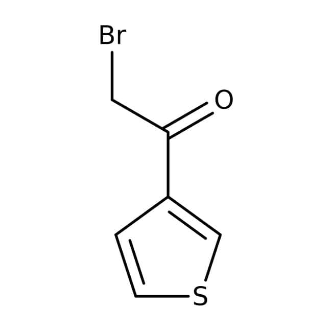 2-Bromo-1-(3-thienyl)-1-ethanone, 97%, Maybridge™ Amber Glass Bottle; 5g 2-Bromo-1-(3-thienyl)-1-ethanone, 97%, Maybridge™