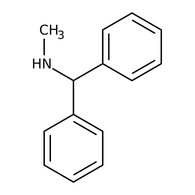 Alfa Aesar™N-Methyl(Diphenylmethyl)Amin, 98% 5g Alfa Aesar™N-Methyl(Diphenylmethyl)Amin, 98%