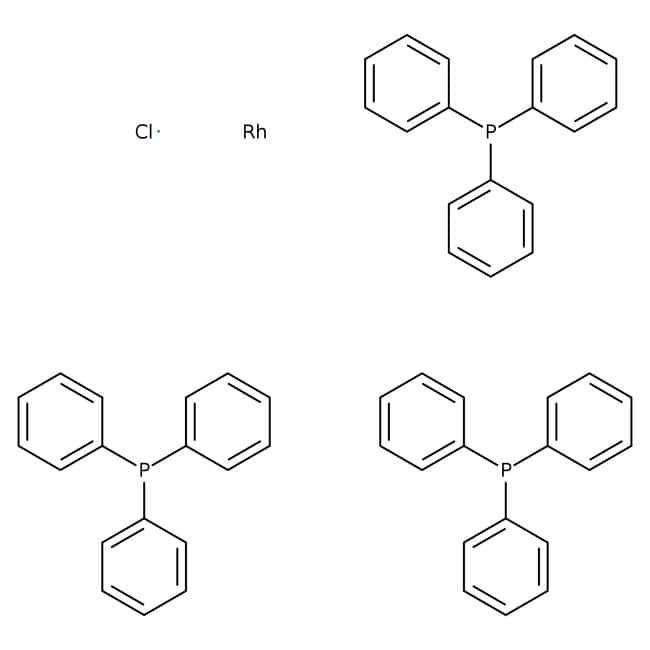 Tris(triphenylphosphine)rhodium(I) chloride, 98%, ACROS Organics
