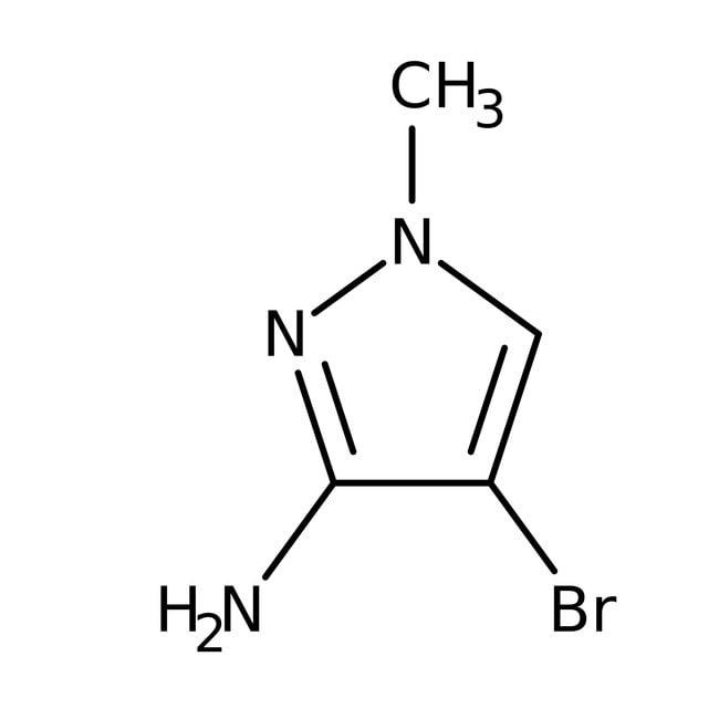 3-Amino-4-bromo-1-methyl-1H-pyrazole, 97+%, Alfa Aesar™
