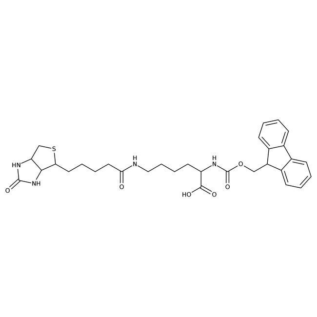 Alfa Aesar™Nalpha-Biotinyl-Nepsilon-Fmoc-L-lysine, 95% 1g Alfa Aesar™Nalpha-Biotinyl-Nepsilon-Fmoc-L-lysine, 95%