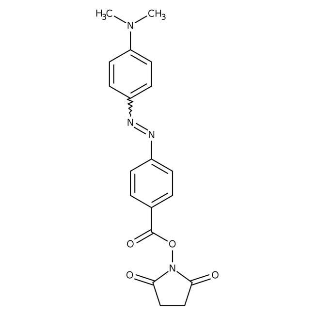 4-[4-(Dimethylamino)phenylazo]benzoic acid N-succinimidyl ester, 98+%, Alfa Aesar™
