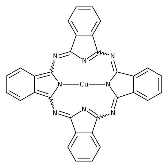 Copper phthalocyanine, dye content ca 95%, ACROS Organics™