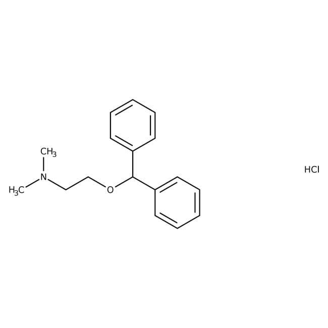 Diphenhydramine hydrochloride, 99%, ACROS Organics
