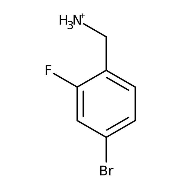 Alfa Aesar™4-Bromo-2-fluorobenzylamine hydrochloride, 98% 5g Alfa Aesar™4-Bromo-2-fluorobenzylamine hydrochloride, 98%