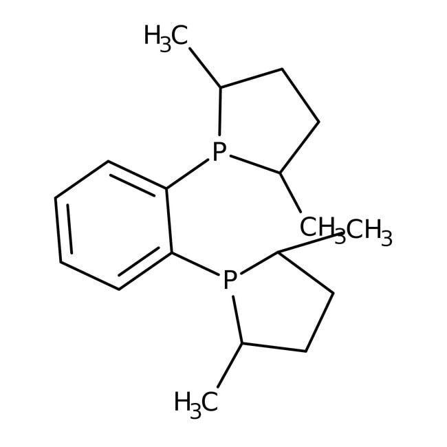 1,2-Bis-[(2R,5R)-2,5-dimethyl-1-phospholanyl]-benzol, ≥97%, Alfa Aesar™ 1g 1,2-Bis-[(2R,5R)-2,5-dimethyl-1-phospholanyl]-benzol, ≥97%, Alfa Aesar™