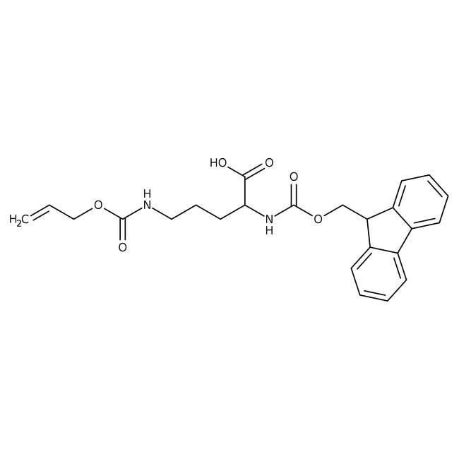 Alfa Aesar™Ndelta-Allyloxycarbonyl-Nalp-Fmoc-L-Ornithin, 95% 5g Alfa Aesar™Ndelta-Allyloxycarbonyl-Nalp-Fmoc-L-Ornithin, 95%