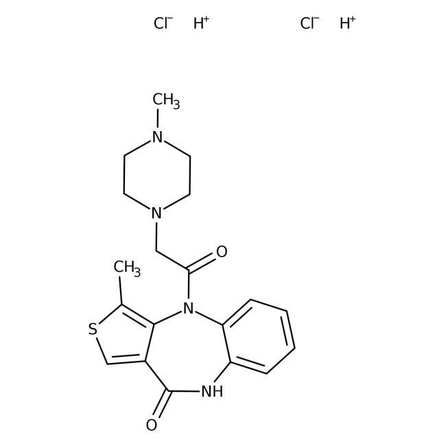 Telenzepine dihydrochloride, Tocris Bioscience™ 50mg Telenzepine dihydrochloride, Tocris Bioscience™