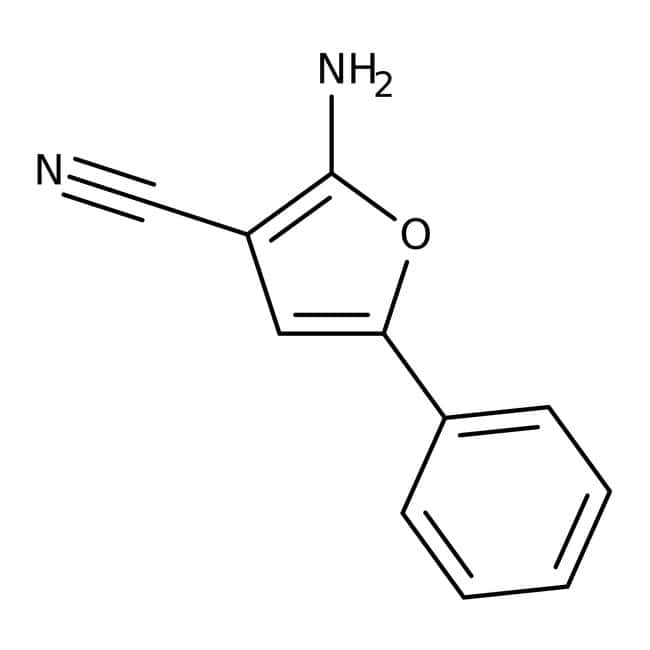 2-Amino-5-phenyl-3-furonitrile, 95%, Maybridge™