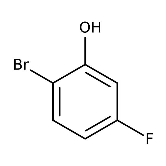2-Bromo-5-fluorophenol, 97%, ACROS Organics™