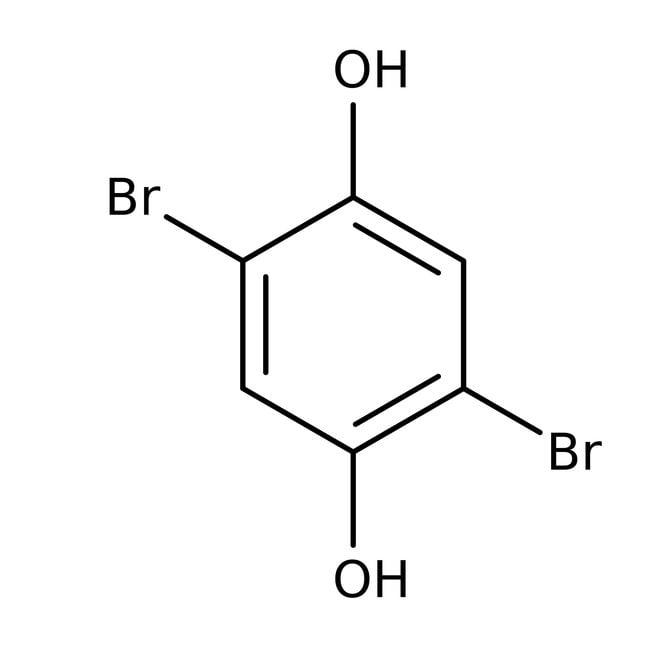 Alfa Aesar™2,5-Dibromohydroquinone, 97%