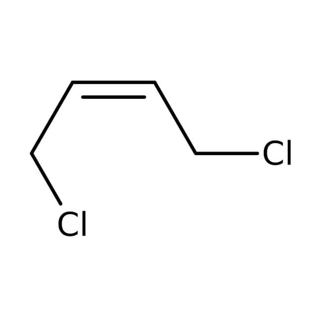 cis-1,4-Dichloro-2-butene, 95%, ACROS Organics™ 25mL; Glass bottle cis-1,4-Dichloro-2-butene, 95%, ACROS Organics™
