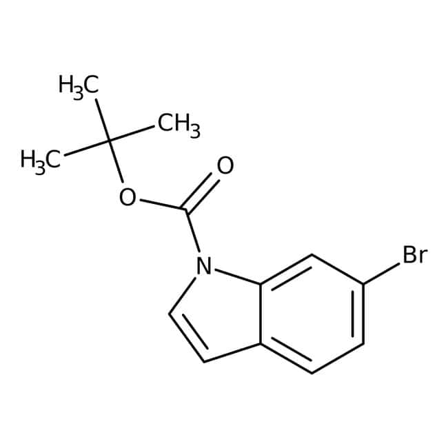 Alfa Aesar™1-Boc-6-bromoindole, 97% 5g Alfa Aesar™1-Boc-6-bromoindole, 97%