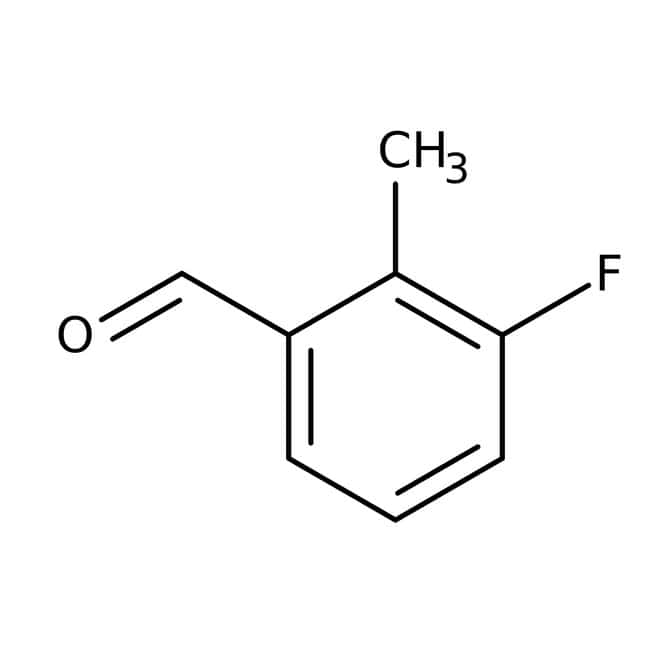 Alfa Aesar  3-Fluoro-2-methylbenzaldehyde, 98%