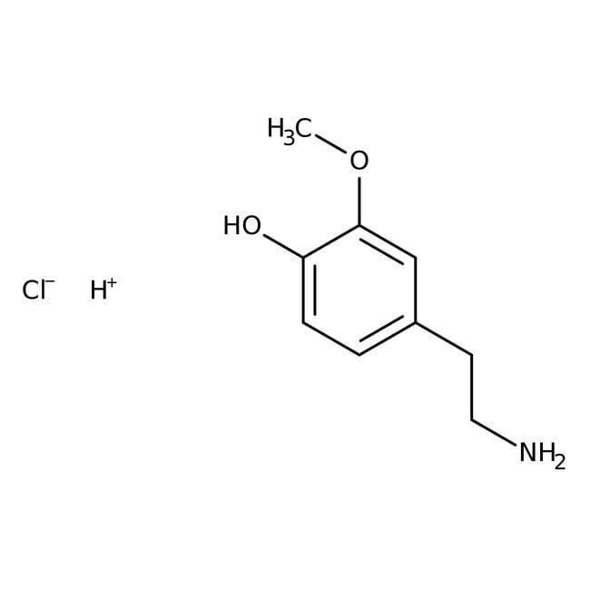 3-O-Methyldopamine hydrochloride, 99+%, ACROS Organics
