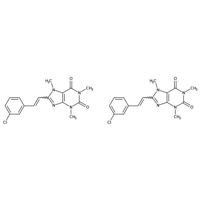 8-(3-Chlorostyryl)caffeine, Tocris Bioscience™ 50mg 8-(3-Chlorostyryl)caffeine, Tocris Bioscience™