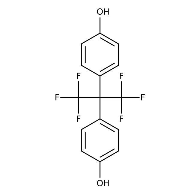 Alfa Aesar  4,4'-(Hexafluoroisopropylidene)diphenol, 98%