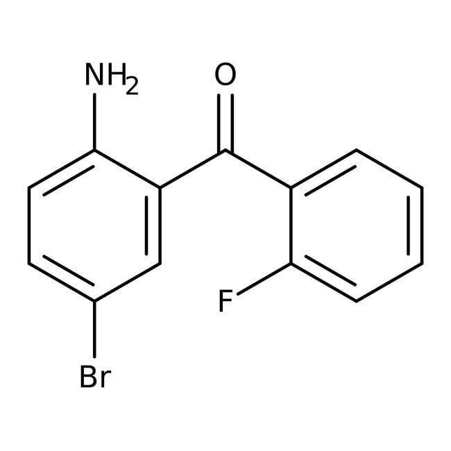 Alfa Aesar™2-Amino-5-Brom-2'-Fluorbenzophenon, 95% 1g Alfa Aesar™2-Amino-5-Brom-2'-Fluorbenzophenon, 95%