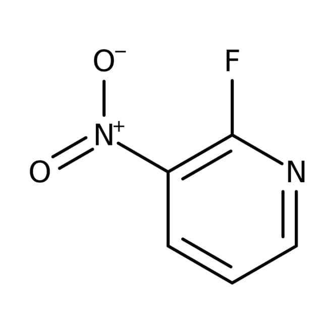 Alfa Aesar™2-Fluoro-3-nitropyridine, 98%: Halopyridines Pyridines and derivatives