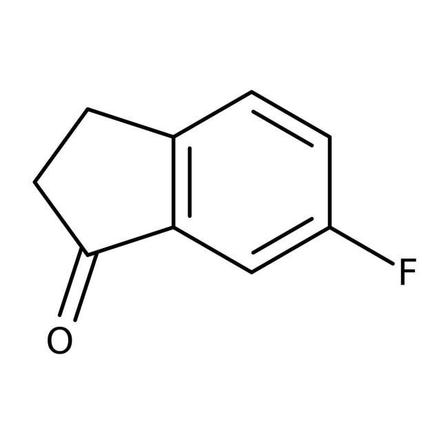 6-Fluoro-1-indanone, 97%, ACROS Organics™