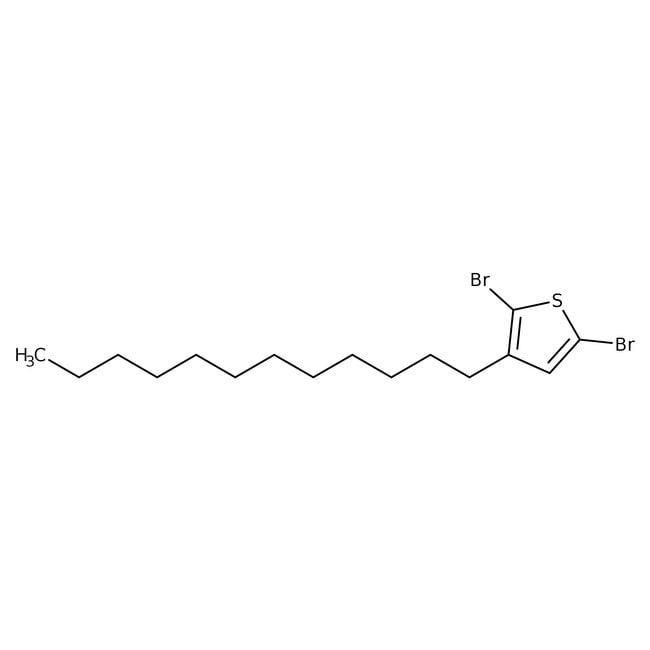 Alfa Aesar™2,5-Dibromo-3-n-dodecylthiophene, 97%